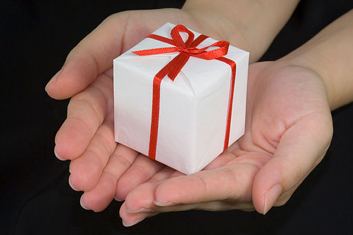 Credit: asenat29 http://commons.wikimedia.org/wiki/File:Giving_a_gift.jpg#filelinks